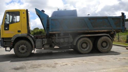 Camion Iveco Bi-benne Import France
