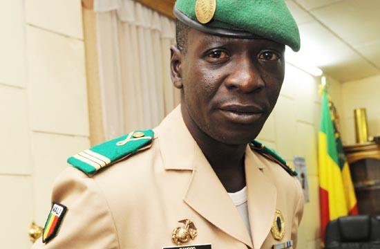 e chef de l'ex junte, le Général Amadou Haya Sanogo