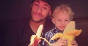 Première photo de la campagne #WeAreAllMonkeys. © Instagram/Neymar