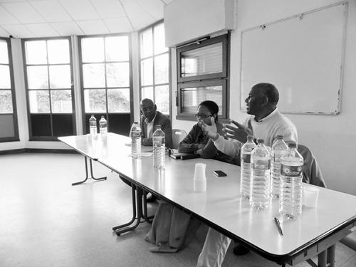 Les membres du bureau de la section Orléans accompagnés des membres du bureau federal UFDG-France