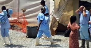 Le centre d'isolation de malades atteints par le virus Ebola à l'hôpital Donka à Conakry le 14 avril 2014 | Cellou Binani