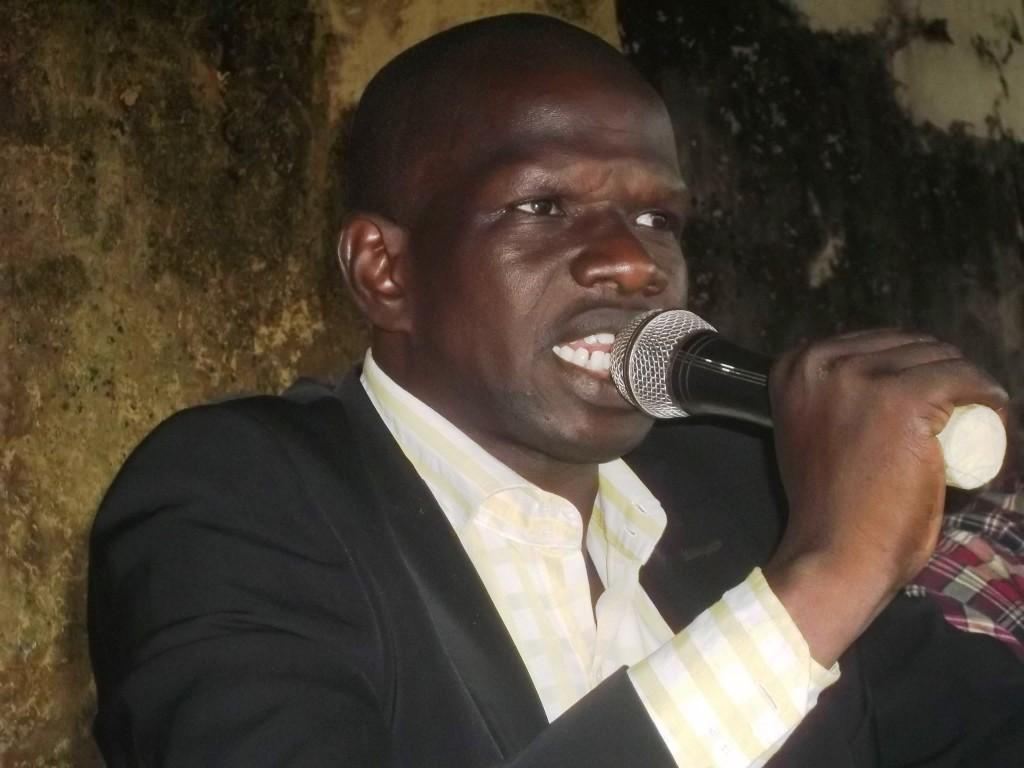 Mohamed Lamine Kaba, coordinateur de ''Tout Sauf Alpha''