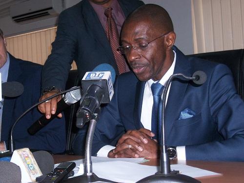 Mohamed Diaré, ministre d'Etat chargé de l'économie et des finances