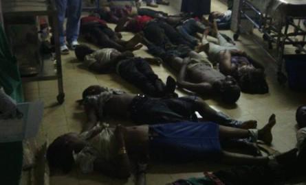 Des victimes du drame de Rogbane