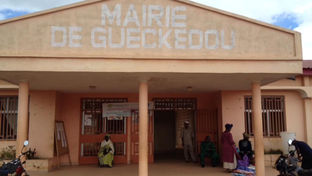 Crédit photo: RFI_ La mairie de Guéckédou