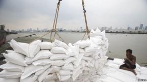 bateau riz thailande