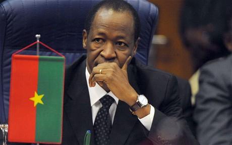 Blaise Compaore, Président du Burkina Faso Photo: AFP
