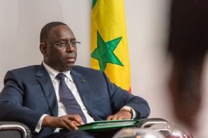 Macky Sall President du Senegal