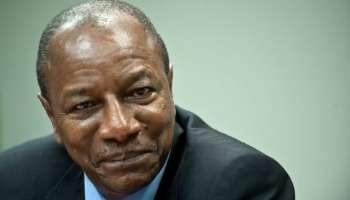 Alpha Condé. Crédit photo: Jeune Afrique