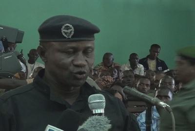 colonel Amadou Bangoura