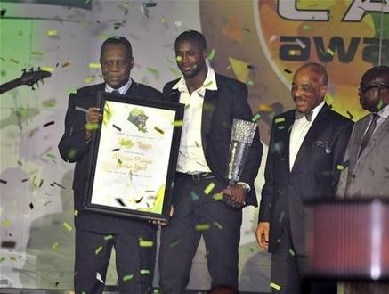 yaya toure meilleur joueur africain