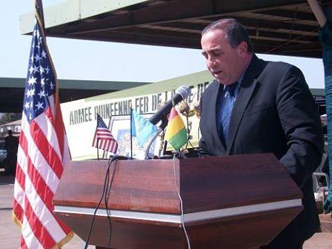 L'ambassadeur des Etats-Unis en Guinée