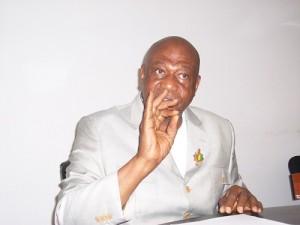 Honorable Amadou Damaro Camara président du groupe parlementaire RPG Arc-en-ciel