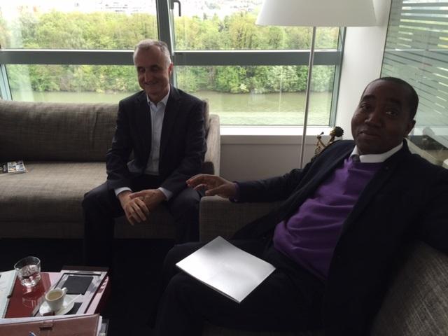 Jacques du Puy et Rachid Ndiaye