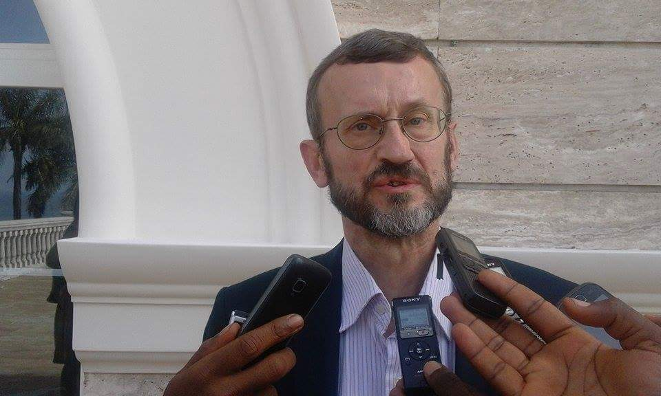 Geradus Gielen, chef de la délégation de l'Union européenne en Guinée