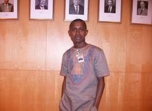 Boubacar Sidy BAH, rédacteur en chef du site www.visionguinee.info