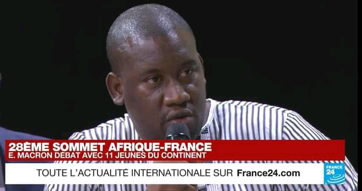 Aliou Bah's truths to President Macron on France's attitude to the 3rd terms